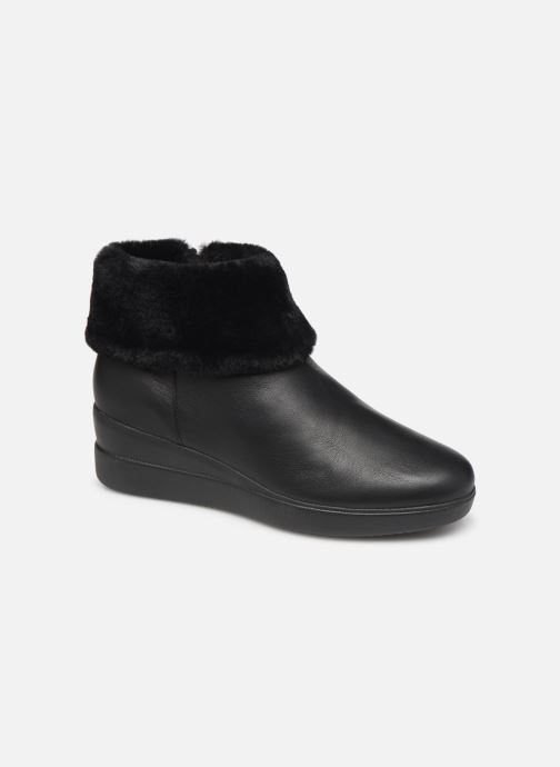 Ankle boots Geox DSTARDUST Black detailed view/ Pair view