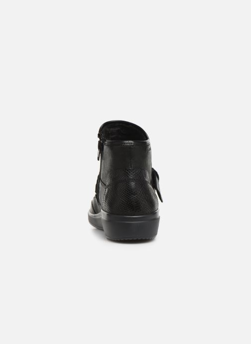 Ankle boots Geox DTAHINA Black view from the right