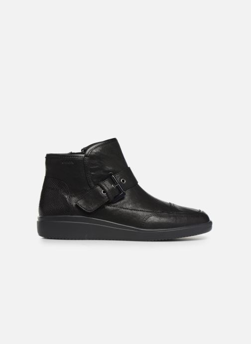 Ankle boots Geox DTAHINA Black back view