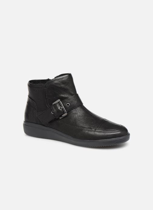 Bottines et boots Geox DTAHINA Noir vue détail/paire