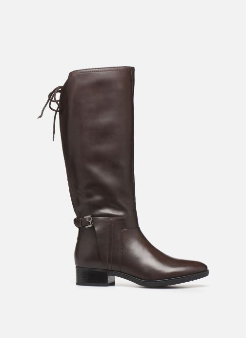 Boots & wellies Geox DFELICITY_D84 Brown back view