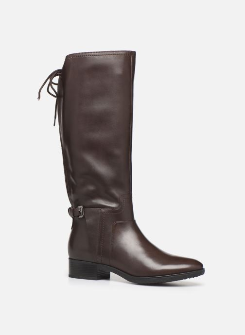 Boots & wellies Geox DFELICITY_D84 Brown detailed view/ Pair view