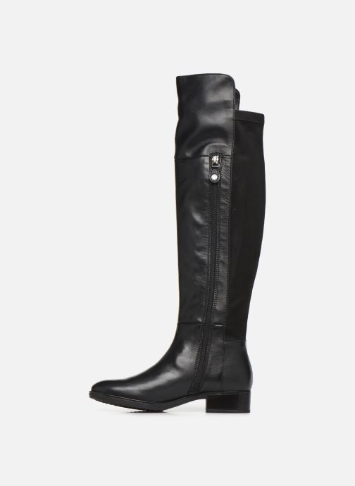 Boots & wellies Geox DFELICITY4 Black front view