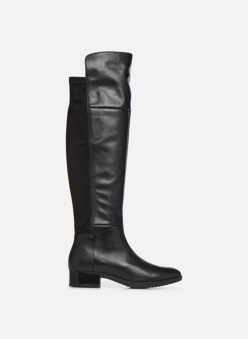 Boots & wellies Geox DFELICITY4 Black back view