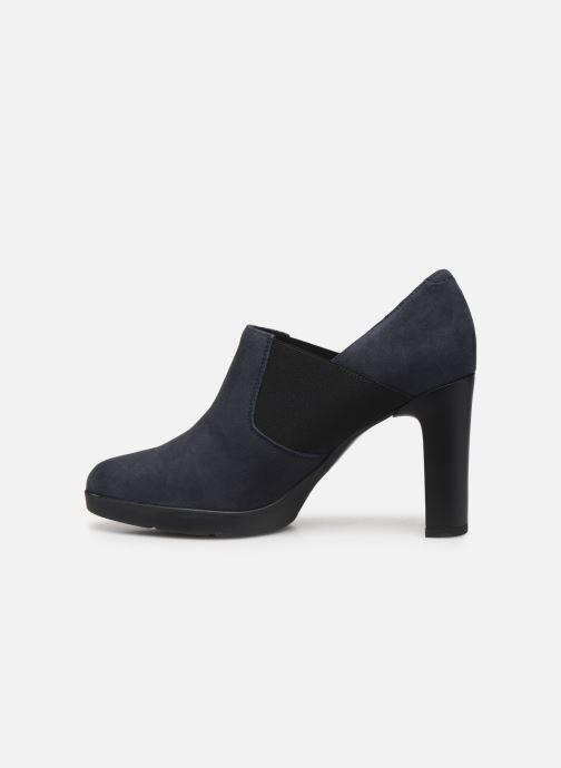Stiefeletten & Boots Geox DANNYAH.C-CAMOSCIO blau ansicht von vorne