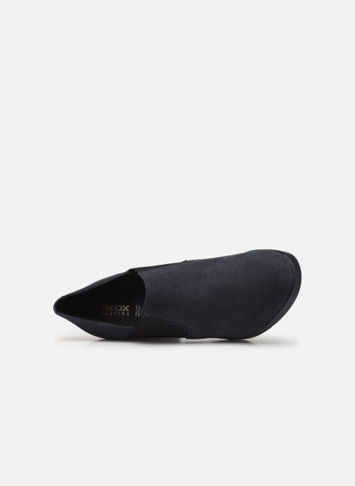 Stiefeletten & Boots Geox DANNYAH.C-CAMOSCIO blau ansicht von links