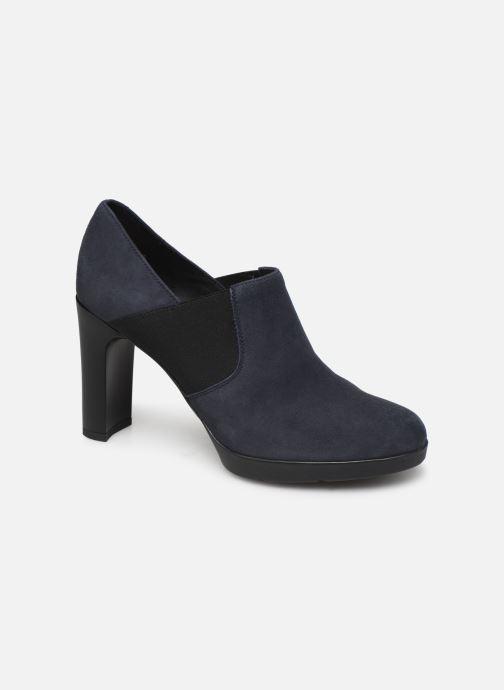 Stiefeletten & Boots Geox DANNYAH.C-CAMOSCIO blau detaillierte ansicht/modell