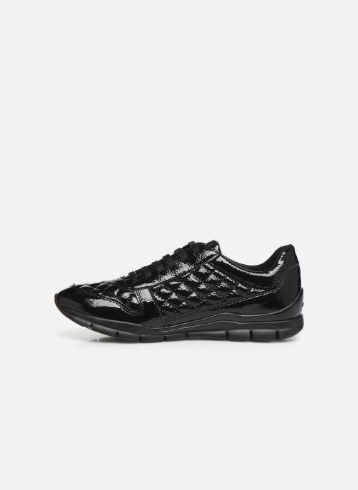Sneakers Geox DSUKIED-NAPLACKSINT.+NAPL Zwart voorkant