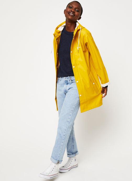 Vêtements Tretorn Wings Rainjacket W C Jaune vue bas / vue portée sac