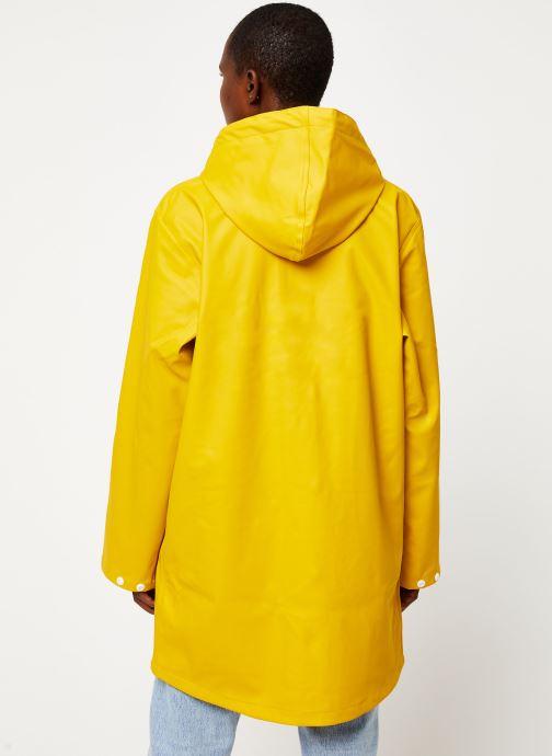 Vêtements Tretorn Wings Rainjacket W C Jaune vue portées chaussures