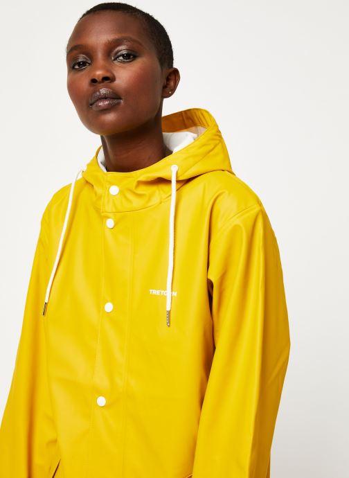 Vêtements Tretorn Wings Rainjacket W C Jaune vue face