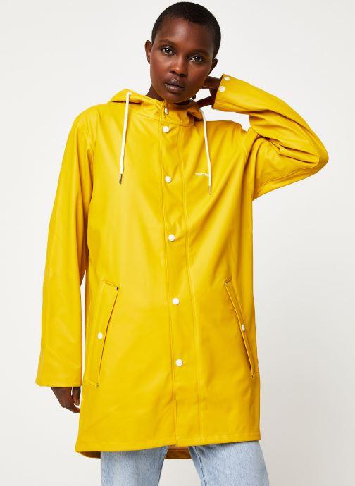 Vêtements Tretorn Wings Rainjacket W C Jaune vue droite