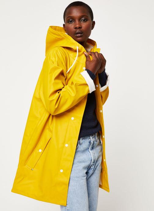 Vêtements Tretorn Wings Rainjacket W C Jaune vue détail/paire