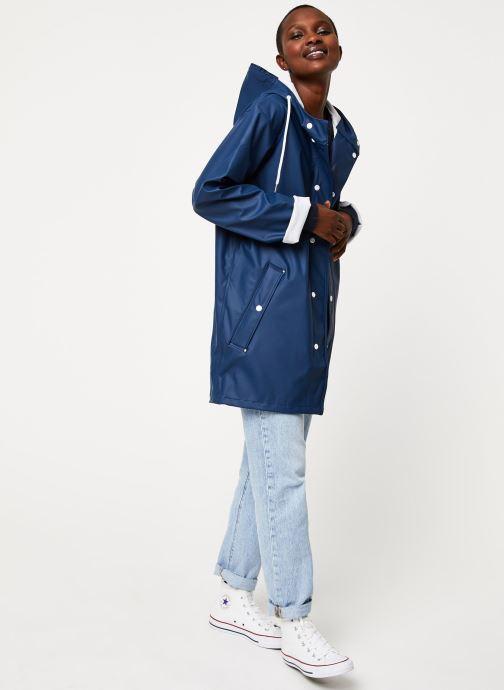 Vêtements Tretorn Wings Rainjacket W C Bleu vue bas / vue portée sac