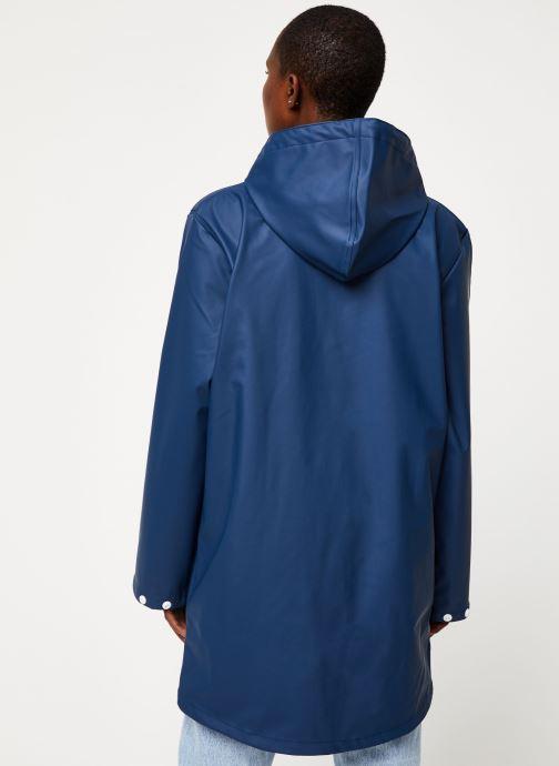 Vêtements Tretorn Wings Rainjacket W C Bleu vue portées chaussures