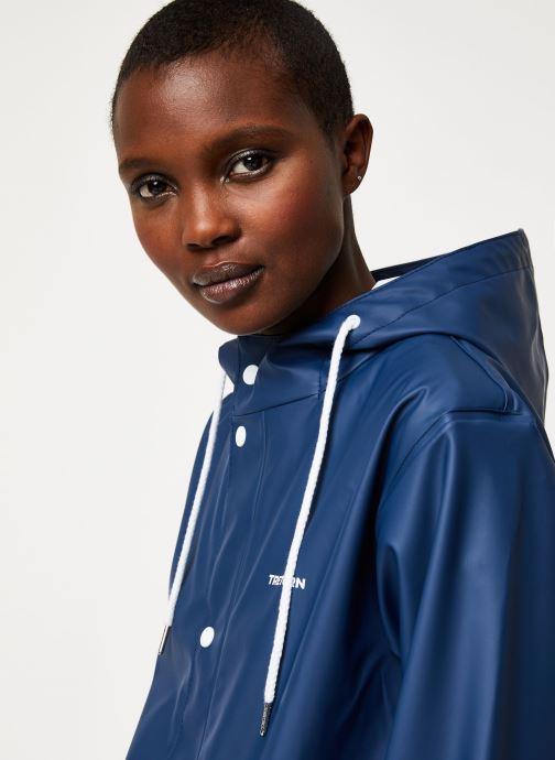 Vêtements Tretorn Wings Rainjacket W C Bleu vue face