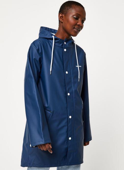 Vêtements Tretorn Wings Rainjacket W C Bleu vue droite