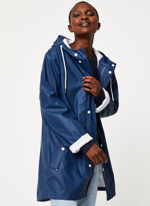 Vêtements Tretorn Wings Rainjacket W C Bleu vue détail/paire