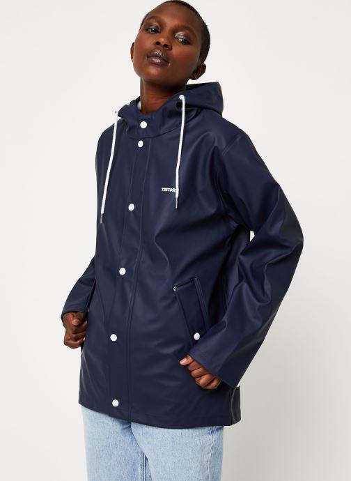 Kleding Tretorn Wings Short Rain Jacket W C Blauw rechts