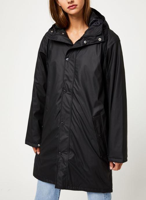 Vêtements Tretorn Wings Short Rain Jacket W C Noir vue droite