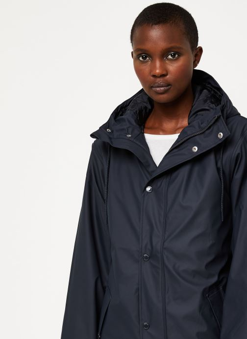 Vêtements Tretorn Wings Short Rain Jacket W C Noir vue face