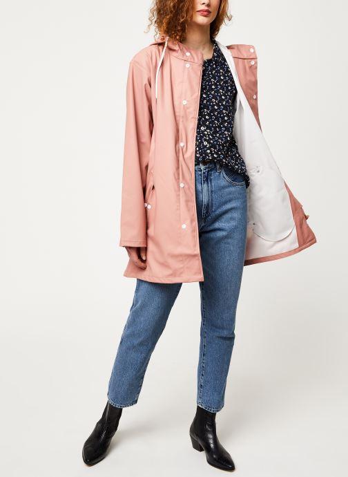 Vêtements Tretorn Wings Plus Rain Jacket W C Rose vue bas / vue portée sac