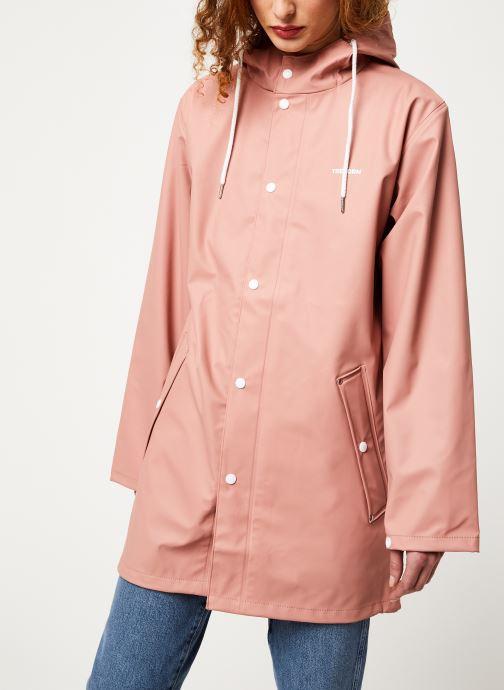 Vêtements Tretorn Wings Plus Rain Jacket W C Rose vue droite