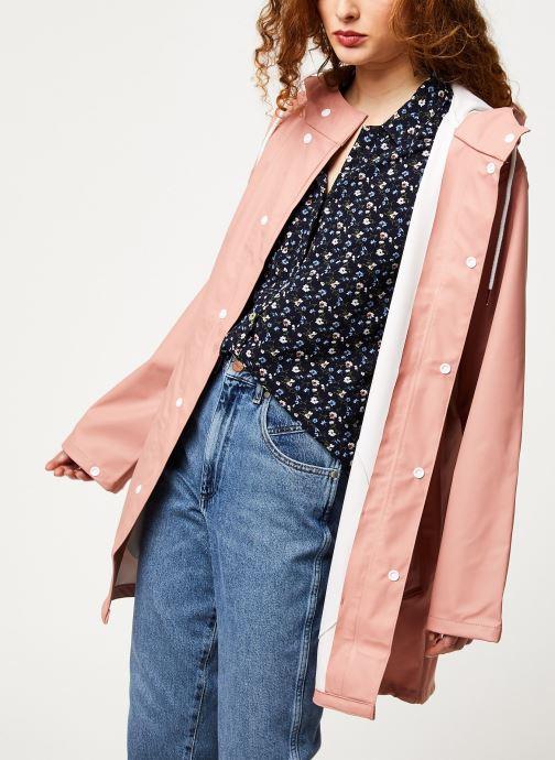 Vêtements Tretorn Wings Plus Rain Jacket W C Rose vue détail/paire