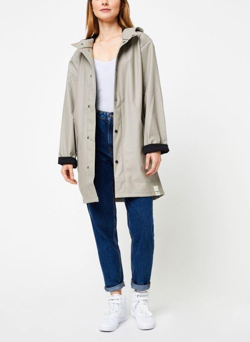 Vêtements Tretorn Wings Plus Rain Jacket W C Vert vue bas / vue portée sac