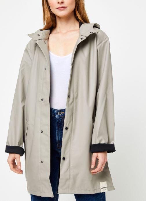 Vêtements Tretorn Wings Plus Rain Jacket W C Vert vue détail/paire