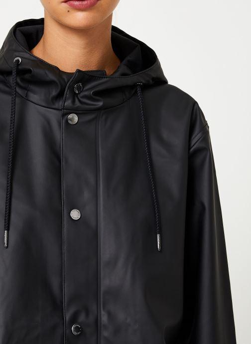 Kleding Tretorn Wings Plus Rain Jacket W C Zwart voorkant