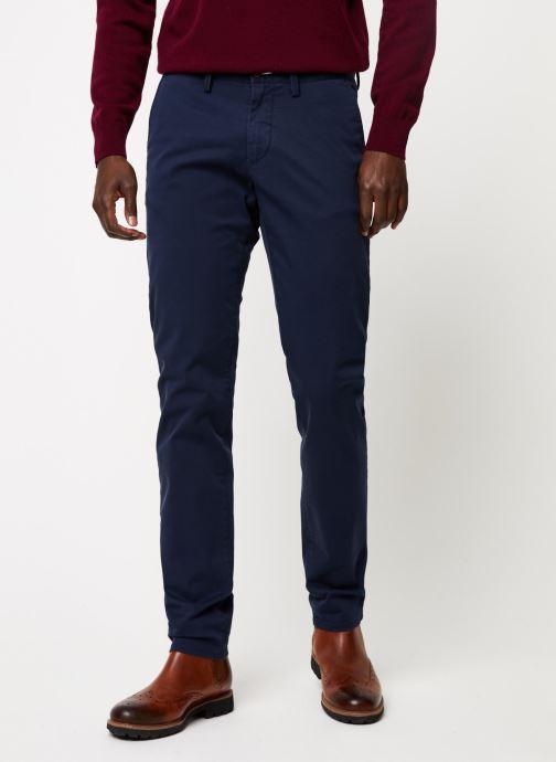 Vêtements GANT Slim Twill Chino Bleu vue détail/paire