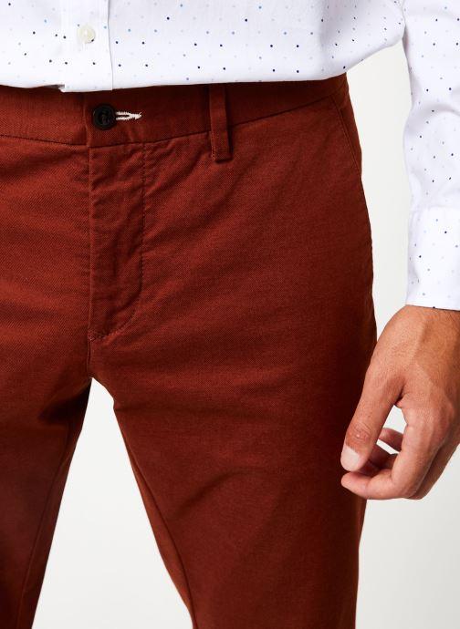Vêtements Gant Slim Tech Prep Chino Orange vue face
