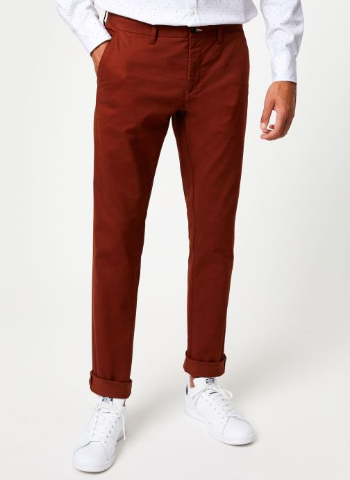 Vêtements Gant Slim Tech Prep Chino Orange vue détail/paire