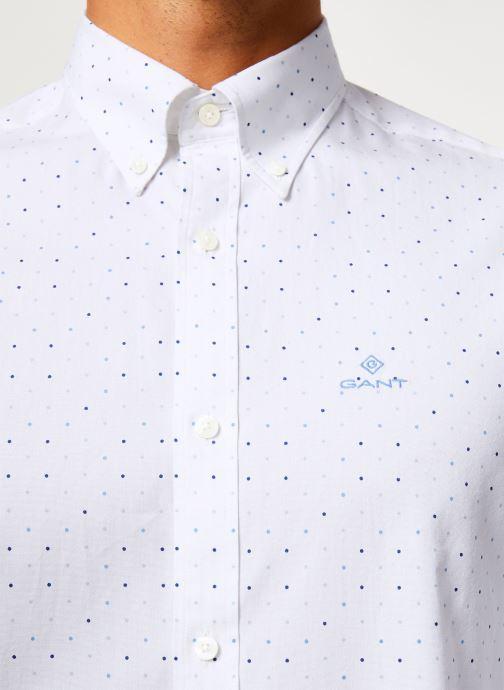 Vêtements Gant Micro Polka Dot Print Reg Lbd Blanc vue face