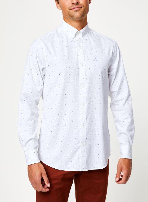 Vêtements Gant Micro Polka Dot Print Reg Lbd Blanc vue détail/paire