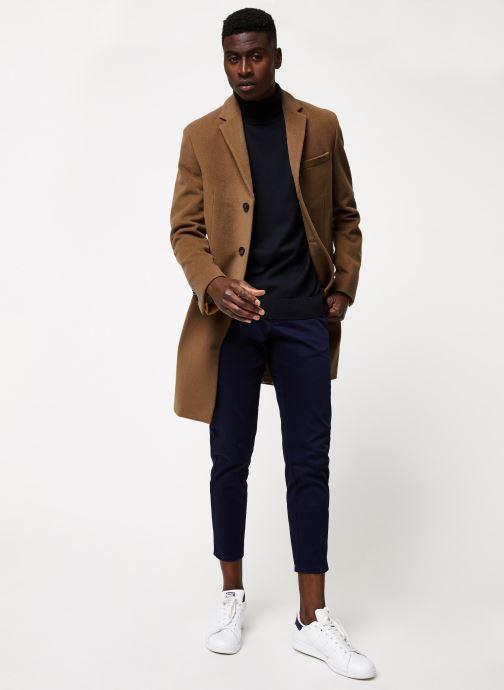 Vêtements Gant The Classic Wool Coat Beige vue bas / vue portée sac