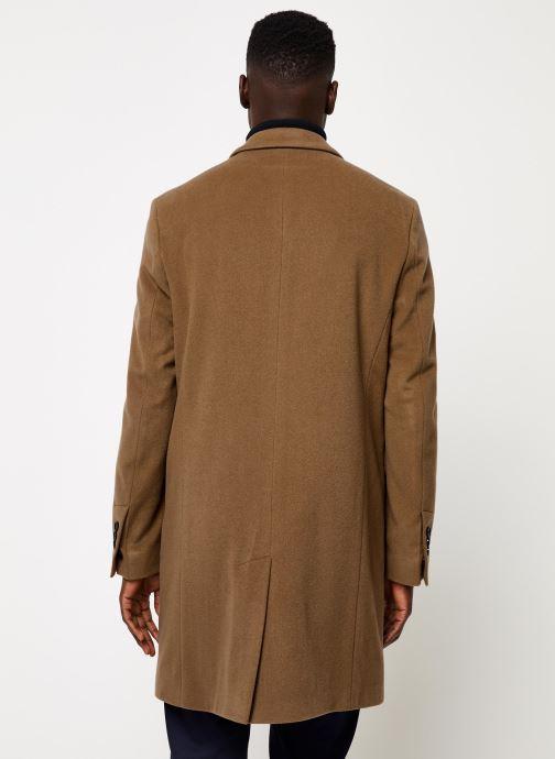 Vêtements GANT The Classic Wool Coat Beige vue portées chaussures