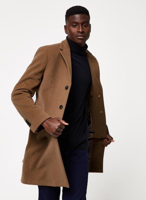 Vêtements GANT The Classic Wool Coat Beige vue droite