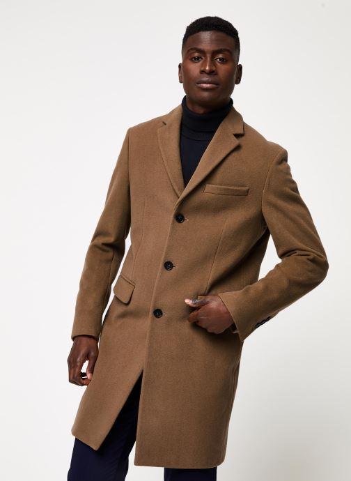 Vêtements GANT The Classic Wool Coat Beige vue détail/paire