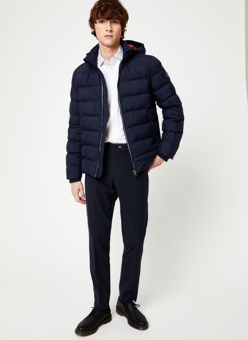 Vêtements Gant The Active Cloud Jacket Bleu vue bas / vue portée sac