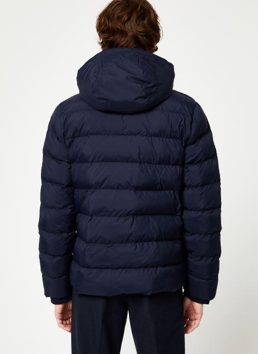 Vêtements Gant The Active Cloud Jacket Bleu vue portées chaussures