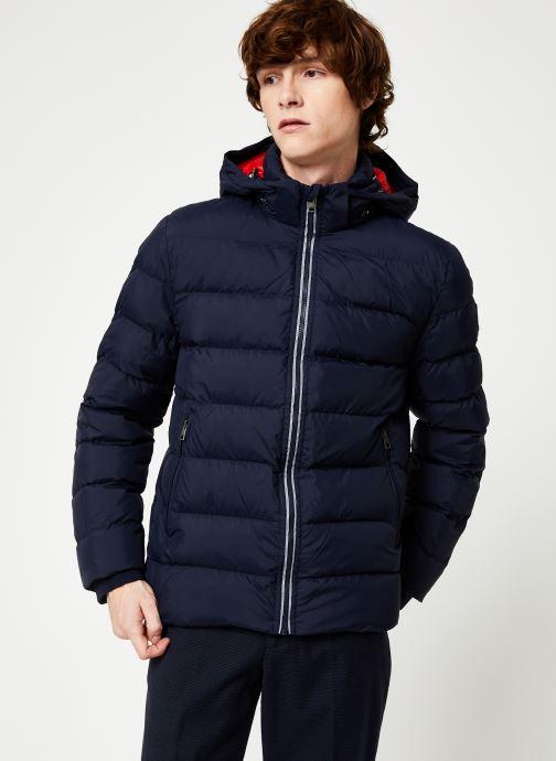 Vêtements Gant The Active Cloud Jacket Bleu vue droite