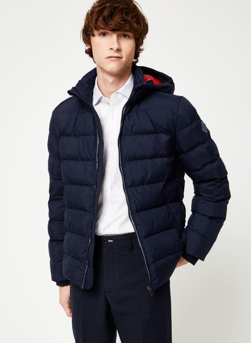 Vêtements GANT The Active Cloud Jacket Bleu vue détail/paire
