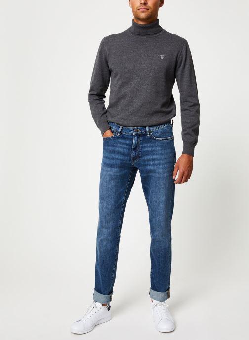 Vêtements GANT Slim Gant Jeans Bleu vue bas / vue portée sac