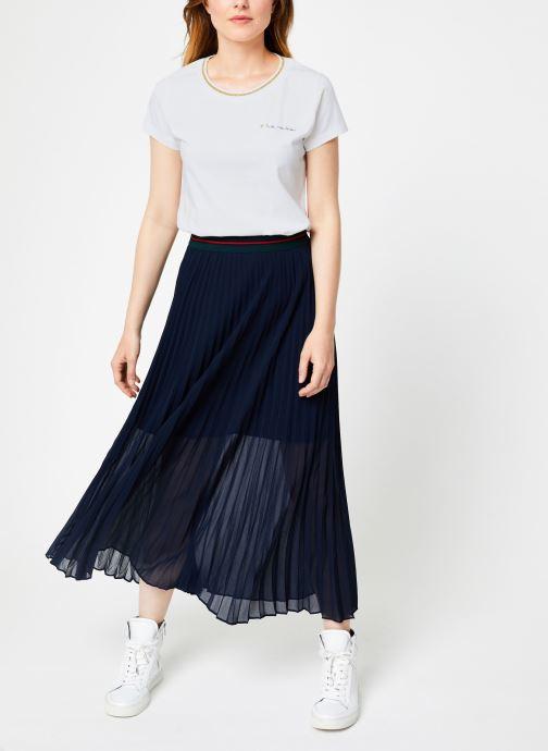 Vêtements I.Code Tee-Shirt Blanc MC QP10104 Blanc vue bas / vue portée sac