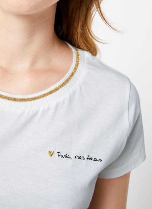Vêtements I.Code Tee-Shirt Blanc MC QP10104 Blanc vue face