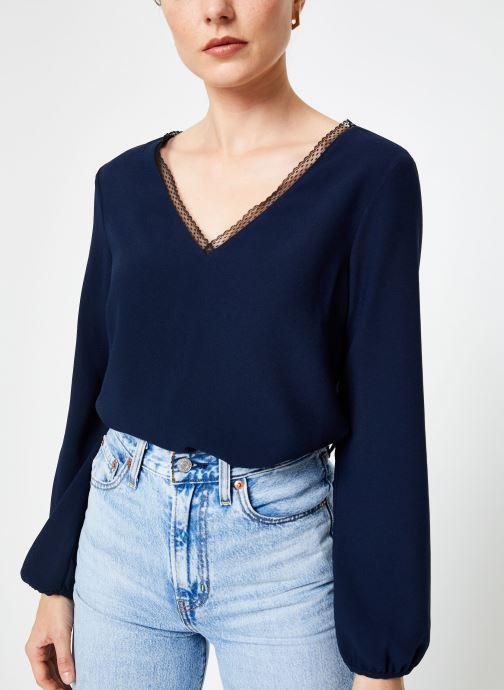 Vêtements I.Code Top Noue Au Dos QP11084 Bleu vue détail/paire