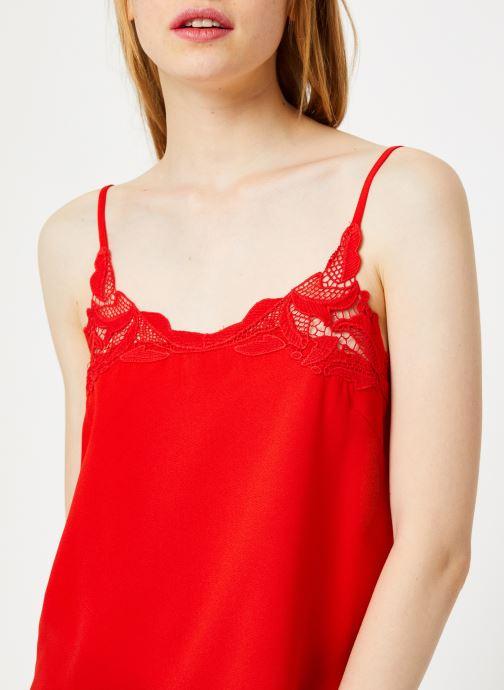 Tøj I.Code Top Lingerie Paprika QP11234 Rød se forfra