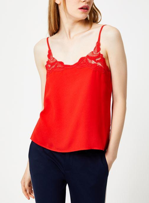 Tøj I.Code Top Lingerie Paprika QP11234 Rød Se fra højre